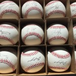 Cleveland Indians Autographed Baseball
