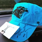Cam Newton Autographed Panthers Hat