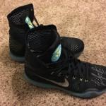Dallas Mavericks JJ Barea Autographed Game Used Basketball Shoes